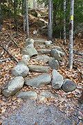 Step Falls Nature Preserve in Newry, Maine USA. Acquired in 1962,  Step Falls was The Nature Conservancy's first preserve in Maine.