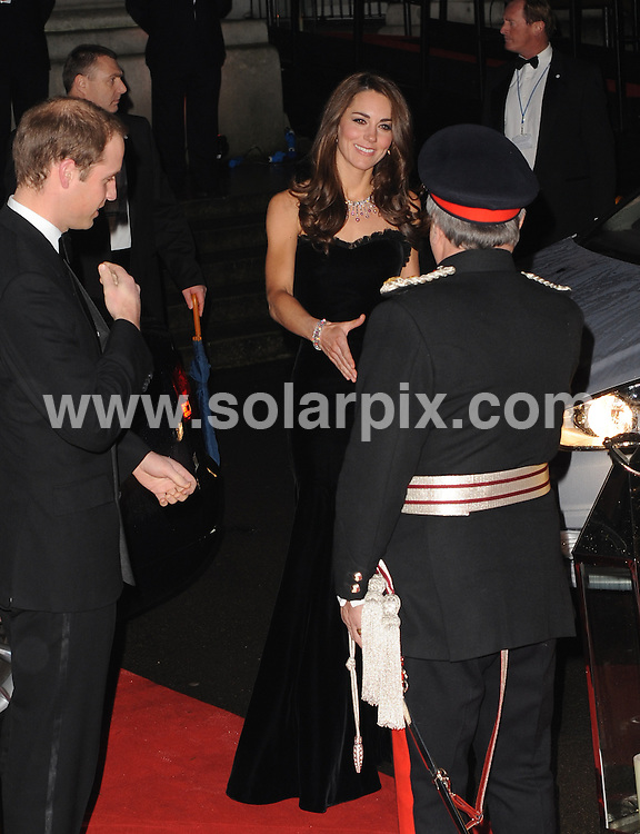 **ALL ROUND PICTURES FROM SOLARPIX.COM**                                             **WORLDWIDE SYNDICATION RIGHTS**                                                                                  Caption: The Sun Military Awards at Imperial War Museum in London                                                                              This pic: Prince William, Duke of Cambridge, Catherine, Duchess of Cambridge                                                                                            JOB REF:14305        LNJ       DATE:19.12.2011                                                            **MUST CREDIT SOLARPIX.COM OR DOUBLE FEE WILL BE CHARGED**                                                                      **MUST AGREE FEE BEFORE ONLINE USAGE**                               **CALL US ON: +34 952 811 768 or LOW RATE FROM UK 0844 617 7637**