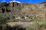 Sierra Alhamilla mountains around village of Nijar, Almeria, Spain