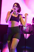 MIAMI FL - JUNE 12: Dua Lipa performs at Bayfront Park Amphitheater on June 12, 2018 in Miami, Florida. Credit: mpi04/MediaPunch