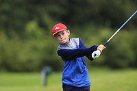 Danny Joyce (Athenry) on the 1st tee during the Connacht U12, U14, U16, U18 Close Finals 2019 in Mountbellew Golf Club, Mountbellew, Co. Galway on Monday 12th August 2019.<br /> <br /> Picture:  Thos Caffrey / www.golffile.ie<br /> <br /> All photos usage must carry mandatory copyright credit (© Golffile | Thos Caffrey)