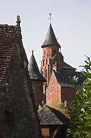Europe/France/Limousin/19/Corrèze/Collonges-la-Rouge : L'église Saint-Pierre