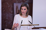 Queen Letizia of Spain attends the Rare Diseases Day official ceremony in Madrid, Spain. March 03, 2016. (ALTERPHOTOS/Victor Blanco)