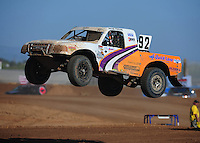 Apr 16, 2011; Surprise, AZ USA; LOORRS driver Jacob Person (92) during round 3 at Speedworld Off Road Park. Mandatory Credit: Mark J. Rebilas-.
