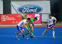 Action from the 2019 Men's National Hockey League match between Auckland and Central at Blake Park in Mount Maunganui, New Zealand on Saturday, 14 September 2019. Photo: Dave Lintott / lintottphoto.co.nz