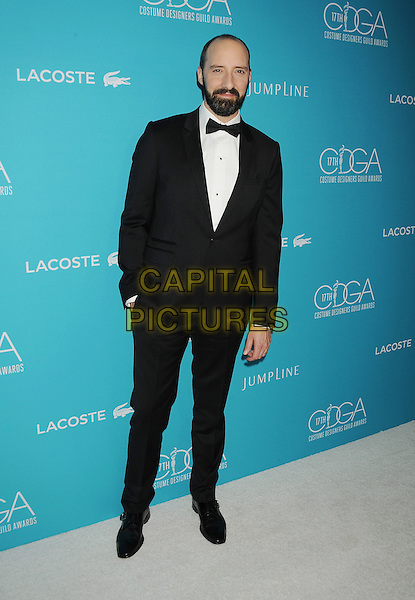 BEVERLY HILLS, CA - FEBRUARY 17: Actor Tony Hale attends the 17th Costume Designers Guild Awards at The Beverly Hilton Hotel on February 17, 2015 in Beverly Hills, California.<br /> CAP/ROT/TM<br /> &copy;TM/ROT/Capital Pictures