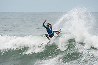 BELLS BEACH, Torquay, Victoria, Australia    (Tuesday, April 3, 2018) Mick Fanning (AUS) - Top seeds continue to fall at the Rip Curl Pro Bells Beach, Stop No. 2 on the World Surf League (WSL) Championship Tour (CT), after completing men&rsquo;s Rounds 3 and 4, and the women&rsquo;s Quarterfinals in four-to-six foot (1.2 - 2 metre) conditions. <br /> <br /> Today witnessed all but three WSL Championships dispatched with John John Florence (HAW), Joel Parkinson (AUS), Adriano de Souza (BRA), and Carissa Moore (HAW) out of the draw. Now, only Mick Fanning (AUS), Stephanie Gilmore (AUS), and Gabriel Medina (BRA) represent the class of elite World Champions heading into the Final Series of the iconic Rip Curl Pro Bells Beach event. <br /> <br /> Two-time, reigning WSL Champion Florence is out of the Rip Curl Pro Bells Beach after losing to compatriot Ezekiel Lau (HAW) in the opening heat of the day. In Round 3 Heat 7, Lau put the pressure on Florence by jostling for position. Lau&rsquo;s physical assertion seemed to throw Florence off his game as he struggled to find a wave of substance. Lau, on the other hand, looked confident and powerful in that heat as well as in Round 4, where he defeated Frederico Morais (PRT) and Conner Coffin (USA). <br /> <br /> Photo: joliphotos.com