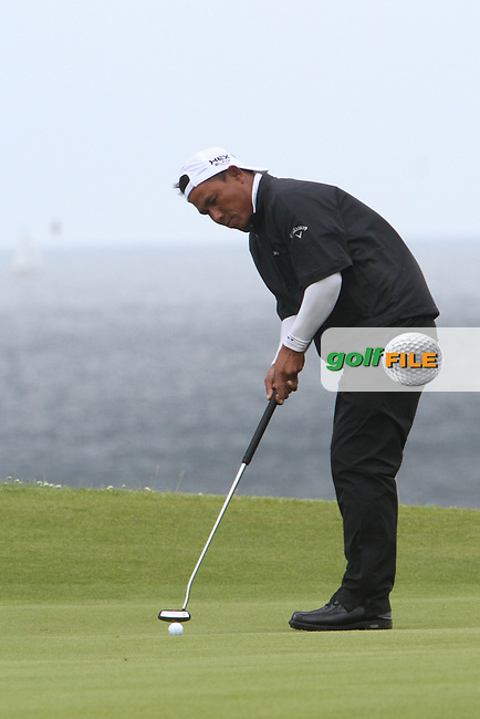 Thongchai Jaidee (THA) on the 5th on Day 2 of the 2012 Irish Open at Royal Portrush Golf Club, Portrush, Co.Antrim, 29/6/12...(Photo Jenny Matthews/www.golffile.ie)