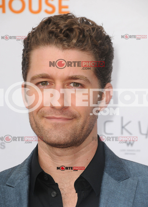 Matthew Morrison  at the 'Backstage at The Geffen Fundraiser honoring Carol Burnett and Jim Gianopulos at the Geffen Playhouse in Los Angeles, California. June 4, 2012. © mpi35/MediaPunch Inc.  ***NO GERMANY***NO AUSTRIA***