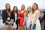 Enjoying Ladies Day at the Listowel Races on Friday were: Tara O'Shea, Renee Cooke, Keena Lynch, Sarah Barry and Cora O'Mahony from Ballybunion