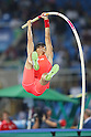Daichi Sawano (JPN), <br /> AUGUST 15, 2016 - Athletics : <br /> Men's Pole Vault Final <br /> at Olympic Stadium <br /> during the Rio 2016 Olympic Games in Rio de Janeiro, Brazil. <br /> (Photo by YUTAKA/AFLO SPORT)
