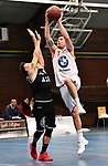 2018-02-18 / Basketbal / Seizoen 2017-2018 / Soba - Ieper / Gorremans (Soba) probeer te scoren<br /> <br /> ,Foto: Mpics.be