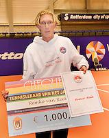 13-12-08, Rotterdam, Reaal Tennis Masters, Tennis trainer van het jaar Remco Reek