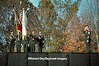 63395-01114 Ceremonies at the Vietnam Veterans Memorial on Veterans Day Washington   DC