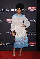 06 January 2018 - Beverly Hills, California - Sonequa Martin-Green. 2018 BAFTA Tea Party held at The Four Seasons Los Angeles at Beverly Hills in Beverly Hills. <br /> CAP/ADM/BT<br /> &copy;BT/ADM/Capital Pictures