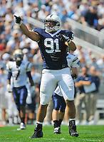 Penn State DT Jared Odrick (91).