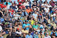 Spectators watch 2014 Formula 1 United States Grand Prix race, Sunday, November 02, 2014 in Austin, Tex. (Mo Khursheed/TFV Media via AP Images)