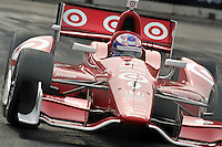 Baltimore -September 2:  Scott Dixon (9) during the warmup sessionBaltimore Grand Prix at the Baltimore Temporary Street Course on September 2, 2012 in Baltimore, Maryland (Ryan Lasek/Eclipse Sportswire)