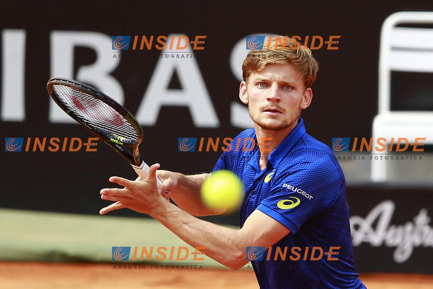 David Goffin (BEL) <br /> Roma 13-05-2016 Foro Italico <br /> Internazionali BNL d'Italia,<br /> Tennis ATP <br /> Foto Cesare Purini / Insidefoto
