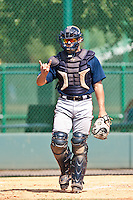 Ryan Query of the Gulf Coast League Braves during the game against the Gulf Coast League Phillies July 10 2010 at the Disney Wide World of Sports in Orlando, Florida.  Photo By Scott Jontes/Four Seam Images