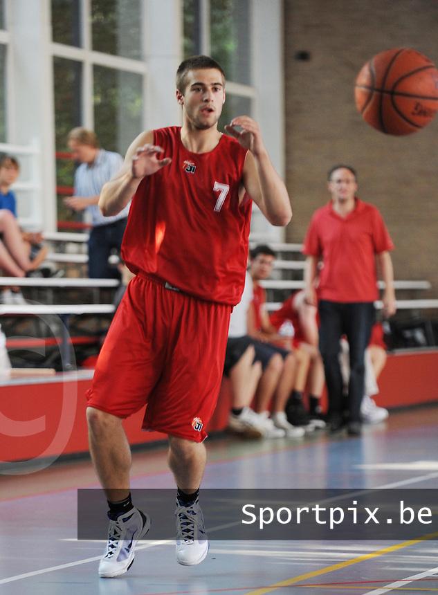 Kortrijk Sport CB Fanion Two : Matthias Van Landuyt.foto VDB / BART VANDENBROUCKE