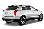 Passenger side rearthree quarter view of a 2013 Cadillac SRX FWD Performance Collection ..