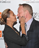 NEW YORK, NY - OCTOBER 03: Allegra Riggio and Jared Harris attend the 'Certain Women' premiere during the 54th New York Film Festival at Alice Tully Hall, Lincoln Center on October 3, 2016 in New York City. Credit: John Palmer / MediaPunch