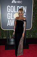 Nominated for BEST PERFORMANCE BY AN ACTRESS IN A SUPPORTING ROLE IN A MOTION PICTURE for her role in &quot;Mudbound,&quot; actress Mary J. Blige attends the 75th Annual Golden Globes Awards at the Beverly Hilton in Beverly Hills, CA on Sunday, January 7, 2018.<br /> *Editorial Use Only*<br /> CAP/PLF/HFPA<br /> &copy;HFPA/PLF/Capital Pictures