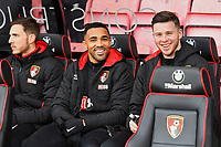 Dan Gosling, Callum Wilson and Jack Simpson of AFC Bournemouth all started on the bench during AFC Bournemouth vs Wigan Athletic, Emirates FA Cup Football at the Vitality Stadium on 6th January 2018