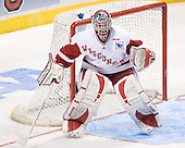 Brian Elliott - The University of Wisconsin Badgers defeated the University of Maine Black Bears 5-2 in their 2006 Frozen Four Semi-Final meeting on Thursday, April 6, 2006, at the Bradley Center in Milwaukee, Wisconsin.  Wisconsin would go on to win the Title on April 8, 2006.
