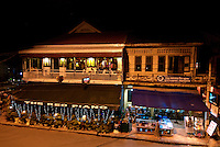Siam Reap, Life at Night,The Red Piano