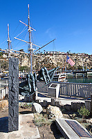 The Harbor In Dana Point California