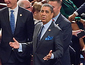 United States Representative Adriano Espaillat (Democrat of New York) on the floor of the US House of Representatives on his first day in office in the US Capitol in Washington, DC on Tuesday, January 3, 2017.<br /> Credit: Ron Sachs / CNP<br /> (RESTRICTION: NO New York or New Jersey Newspapers or newspapers within a 75 mile radius of New York City)