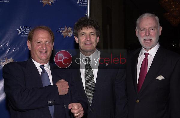 Mike Medavoy, Allen Horn and Leonard Goldberg