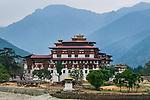 Rinpung Dzong monastery, Paro, Bhutan