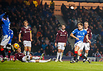 01.12.2019 Rangers v Hearts: Greg Stewart scores goal no 4 for Rangers