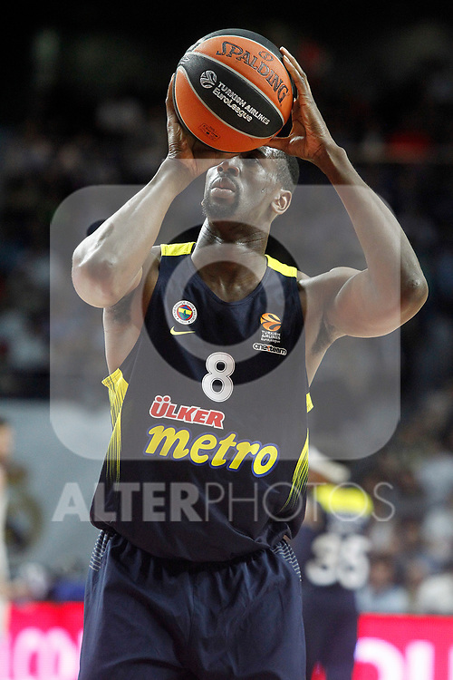 Fenerbahce Istambul's Ekpe Udoh during Euroleague, Regular Season, Round 29 match. March 31, 2017. (ALTERPHOTOS/Acero)