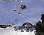 Superpipe snowboard competition, Park City, Utah