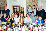 A Gathering of Family and Friends from Camp enjoying a meal at the Brogue Inn on Friday. Pictured front l-r Elaine O'Shea, Jennette Horan, Ashley Horan, Michaela Horan, Carla Griffin, Timmy Griffin, Cillian Horan. Back l-r Brian Enright, Jackie Boyles, Jean Mary Horan, Shane Horan, Mick Horan and Shamus O'Donnell
