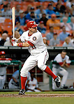 16 May 2007: Washington Nationals third baseman Ryan Zimmerman in action against the Atlanta Braves at RFK Stadium in Washington, DC. The Nationals rallied to defeat the Braves 6-4 to take a 2-1 lead in their four-game series...Mandatory Photo Credit: Ed Wolfstein Photo