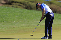 Russell Knox (SCO) putts on the 3rd green during Saturday's Round 3 of the 2018 Turkish Airlines Open hosted by Regnum Carya Golf &amp; Spa Resort, Antalya, Turkey. 3rd November 2018.<br /> Picture: Eoin Clarke | Golffile<br /> <br /> <br /> All photos usage must carry mandatory copyright credit (&copy; Golffile | Eoin Clarke)