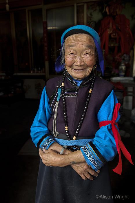 Chinese woman, Dali, Yunna, 2010