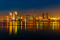 California-San Diego-Skyline