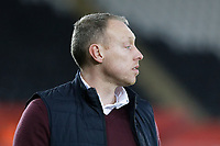 Swansea City manager Steve Cooper stands on the touch line during the Sky Bet Championship match between Swansea City and Wigan Athletic at the Liberty Stadium, Swansea, Wales, UK. Saturday 19 January 2020
