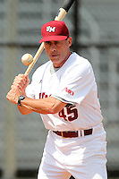 UMass Mike Stone #45 during a game vs Indiana Hoosiers at Lake Myrtle Main Field in Auburndale, Florida;  March 16, 2011.  Indiana defeated UMass 11-10.  Photo By Mike Janes/Four Seam Images