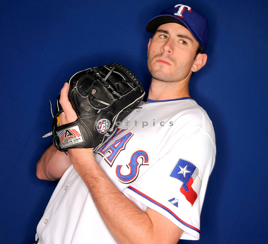 BRANDON MCCARTHY, of the Texas Rangers, during photo day of spring training and the Ranger's training camp in Surprise, Arizona on February 24, 2009.