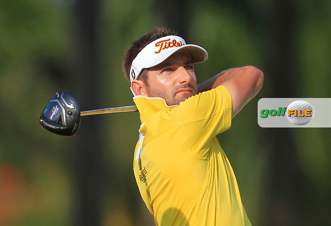 Jbe Kruger (RSA) on the 11th tee during Round 2 of the Maybank Championship on Friday 10th February 2017.<br /> Picture:  Thos Caffrey / Golffile<br /> <br /> All photo usage must carry mandatory copyright credit      (&copy; Golffile | Thos Caffrey)