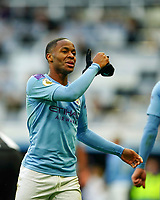30th November 2019; St James Park, Newcastle, Tyne and Wear, England; English Premier League Football, Newcastle United versus Manchester City; Raheem Sterling of Manchester City rips his gloves off in frustration at the final whistle  - Strictly Editorial Use Only. No use with unauthorized audio, video, data, fixture lists, club/league logos or 'live' services. Online in-match use limited to 120 images, no video emulation. No use in betting, games or single club/league/player publications