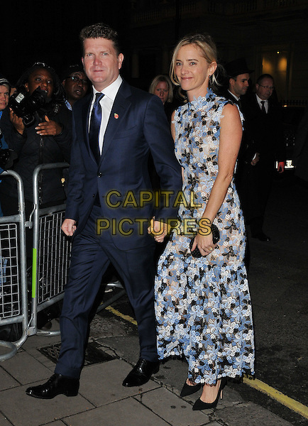 Matthew Barzun &amp; Brooke Barzun attend the Harper's Bazaar Women of the Year Awards 2015, Claridge's Hotel, Brook Street, London, England, UK, on Tuesday 03 November 2015. <br /> CAP/CAN<br /> &copy;Can Nguyen/Capital Pictures