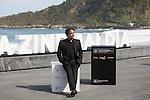 Actors Eduard Fernandez poses during `Lejos del mar´ film presentation at 63rd Donostia Zinemaldia (San Sebastian International Film Festival) in San Sebastian, Spain. September 24, 2015. (ALTERPHOTOS/Victor Blanco)